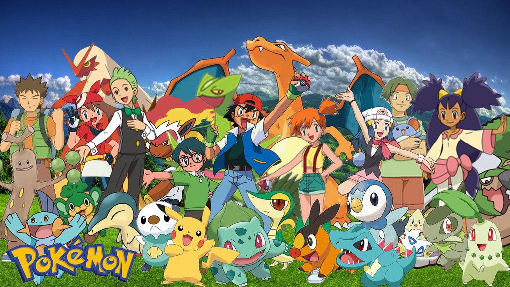 Ash pokemon team